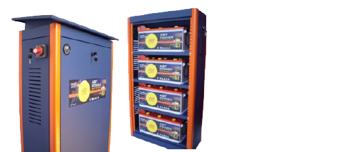 batterie solare Sates