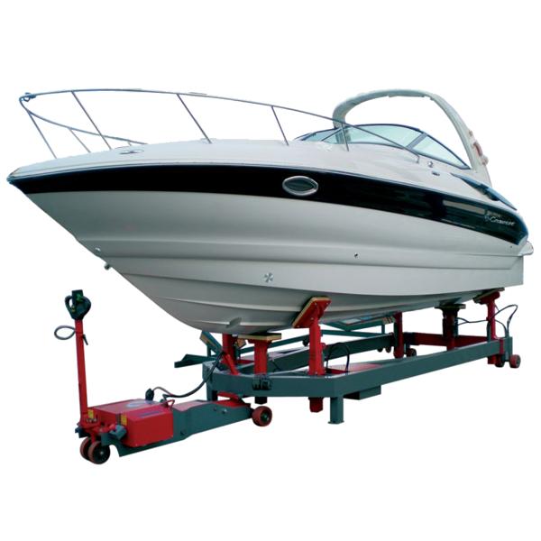 trainatore elettrico formula-1-invasi-barche-travelift