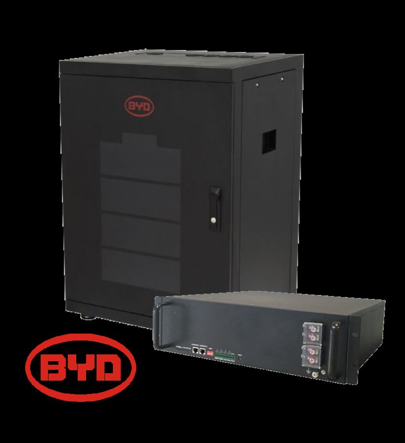 BYD: batterie al litio per fotovoltaico