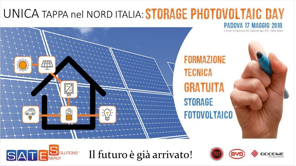 Storage FOTOVOLTAICO