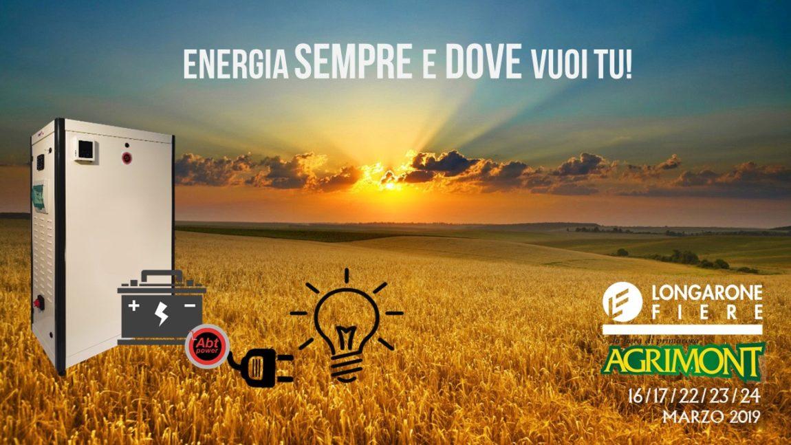 LO STORAGE FOTOVOLTAICO ED ENERGETICO ARRIVA ANCHE NEL SETTORE DELL'AGRICOLTURA